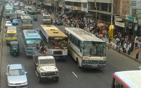 Dhaka Traffic Jam
